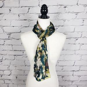 Cynthia Rowley Silk Print Scarf
